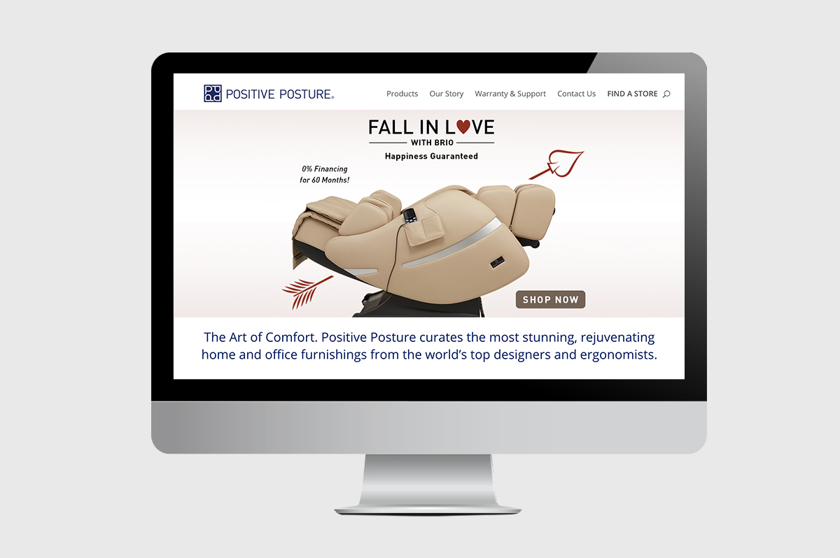 Positive Posture Homepage