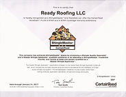 Ready Roofing ShingleMasterCertified