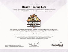 Ready Roofing Certification