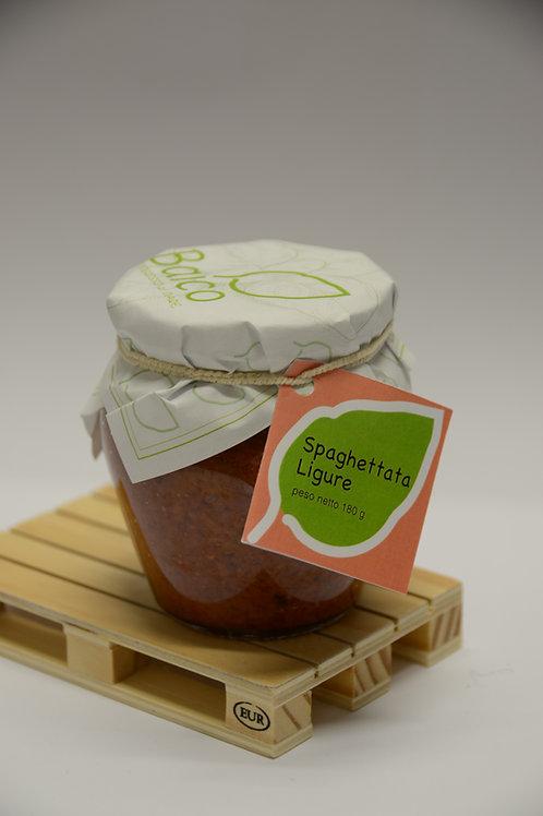 Spaghettata Ligure - Ligurian sauce