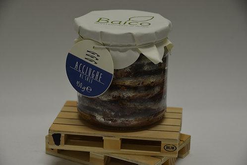 Acciughe al sale- Salt Anchovies
