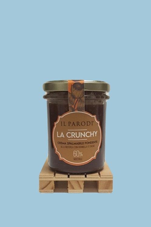 La Crunchy fondente/The dark crunchy