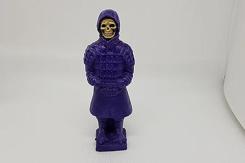 Terracotta skeletor purple