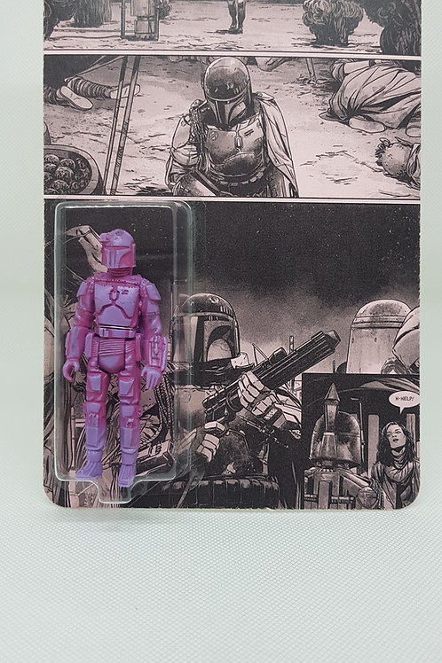 Pink and purple tone fett
