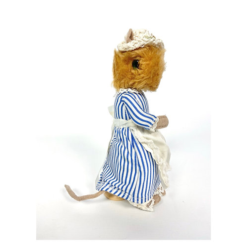 80's vintage Lady Mouse from The Tailor of Gloucester by Beatrix Potter.