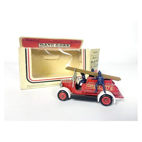1983 Lledo Models Of Days Gone Cardiff City  Fireservice fire engine truck
