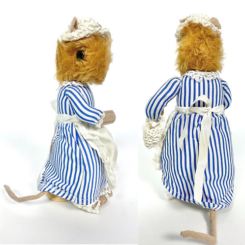80's vintage Lady Mouse from The Tailor of Gloucester by Beatrix Potter