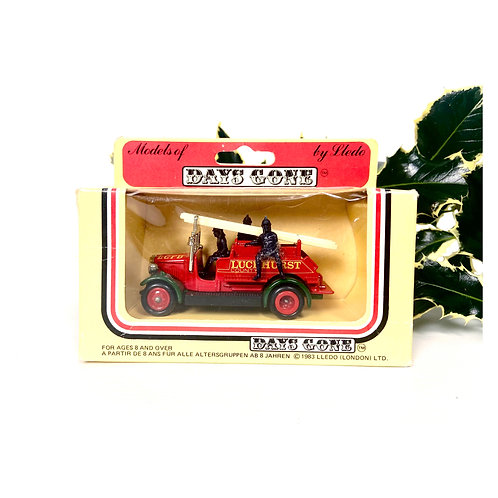 1983 Lledo Models Of Days Gone collection  Luckhurst County Fire Brigade diecast