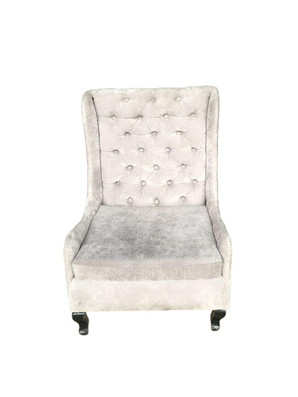 sillon individual gris sued