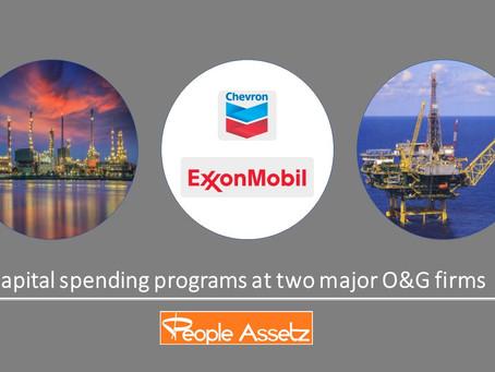 Market Report - Capital spending at major O&G firms