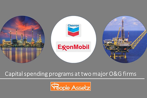 Capital Spending at Exxon and Chevron