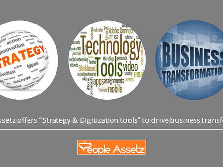 """""""Strategy & Digitization"""" together drive business transformation"""