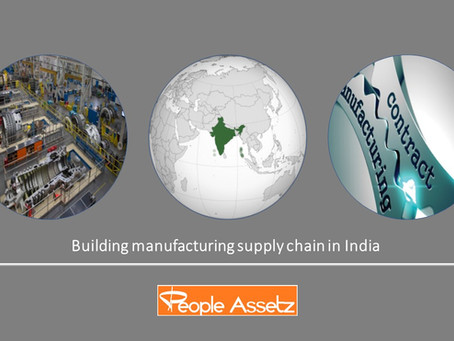 Market Report - Building Manufacturing Supply Chain in India
