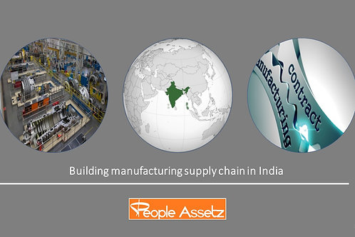Building Manufacturing Supply Chain in India