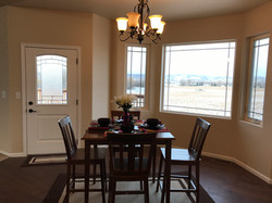 Dining Room Looking Outside