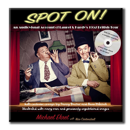 Laurel & Hardy: Spot On! (Book with CD)
