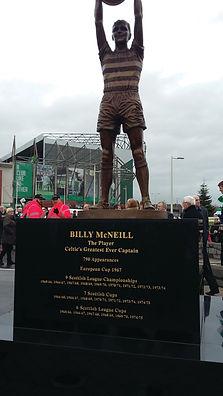 Lanark Memoials Billy McNeill Memorial