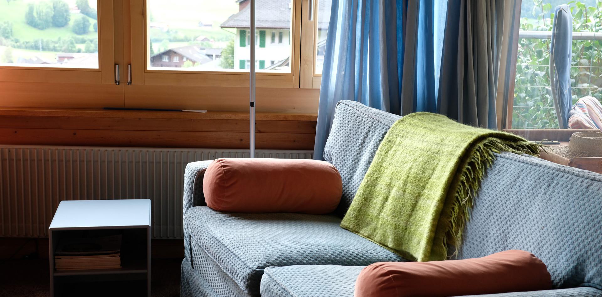 Wohnzimmer (Sofa)