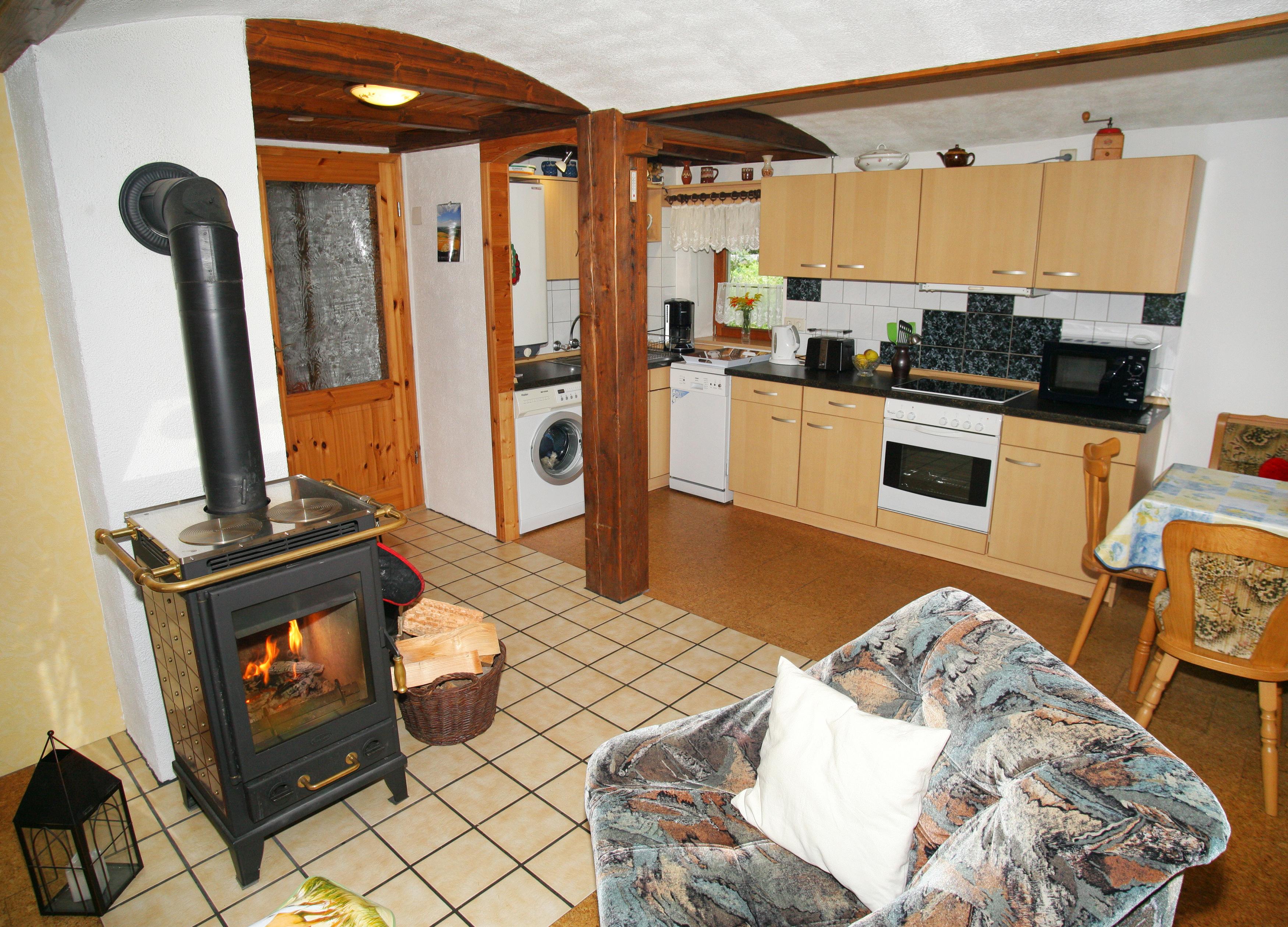 Küche-Wohnbereich