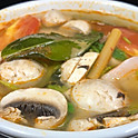 202.TOM YUM (HOT AND SOUR SOUP) (Prawns Base)