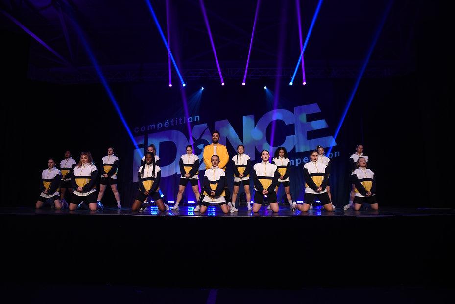 troupe de compétition de danse