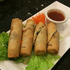 002.	PO PIAH TOD (DEEP FRIED SPRING ROLLS)