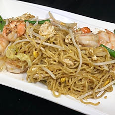 708.	MEE PAD (THAI STYLE CHOW MEIN)