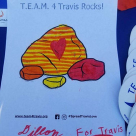 T.E.A.M. 4 Travis raised Asplenia awareness during the Christmas in Litchfield Park event.
