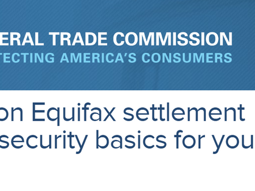 A closer look at the FTC Equifax settlement