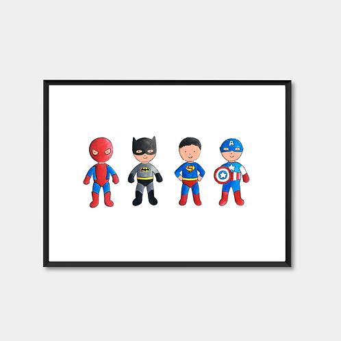 Mini Superheros