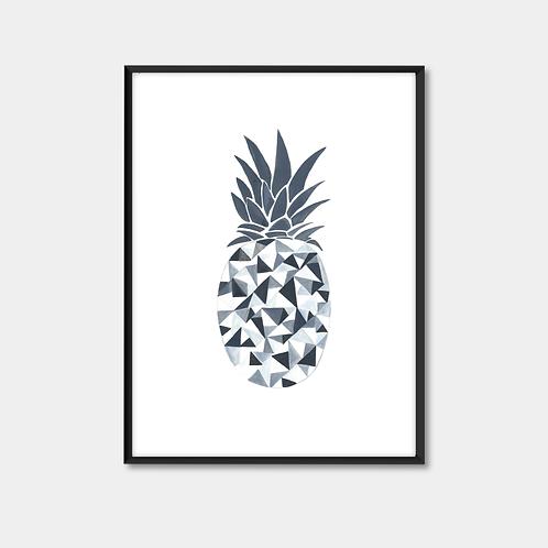 Black & White Pineapple