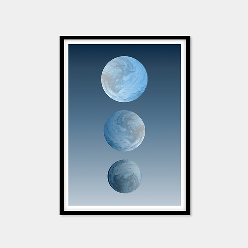 Trio Of Planets