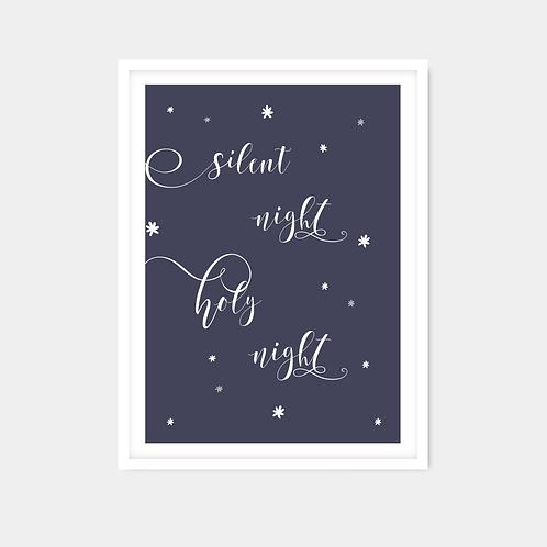 Silent Night Words