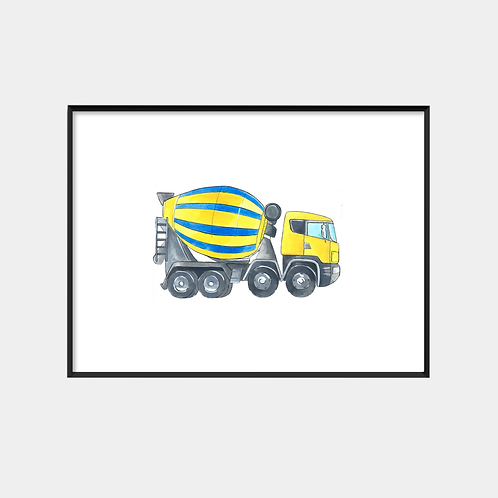 Cement Mixing Truck