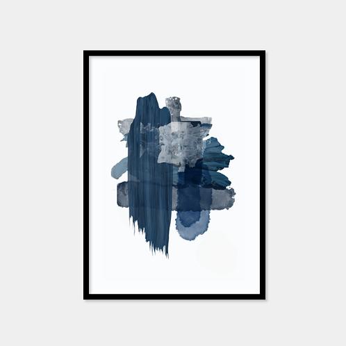 Dark blue abstract