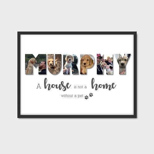 Personalised Pet Photo Print