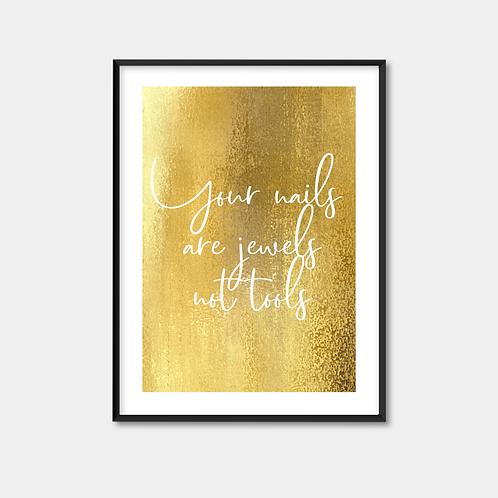 Gold Print