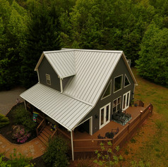New exterior paint and metal roof 2021