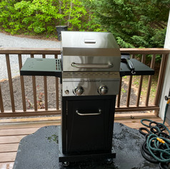 New gas grill 2021