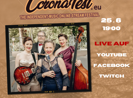 CoronaFest - The Independent-Music Online-Stream Festival