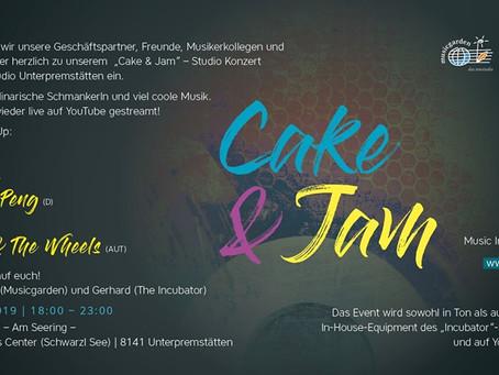 Cake & Jam at the Incubator                                                    15. November 2019