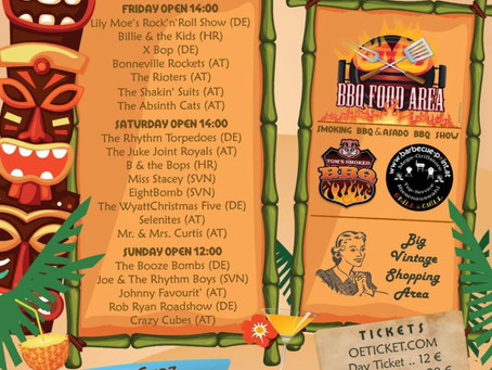 RETURN 2 BACK 2020 - Hawaiian, Beach BBQ & Vintage Festival