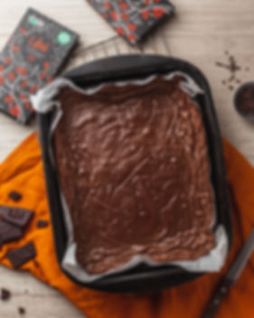 brownie com chocolate Ubá