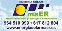 Energía Solar maER