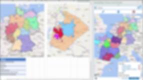 Region maps, boundary maps, border maps, state maps, country maps, country outline maps, region outline