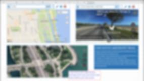 Bird's eye maps, street view maps, satellite maps, excel maps