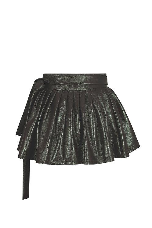 Khaki V.L Short Chima Skirt