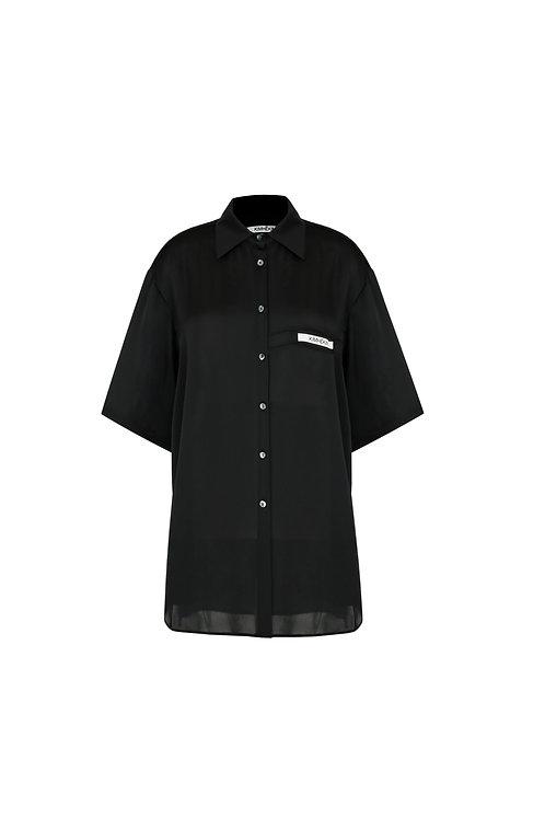 Label Short Sleeves Shirt