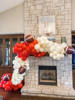 Baker Strong Balloon Garland