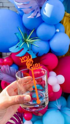 Neon Tropical Grad Party